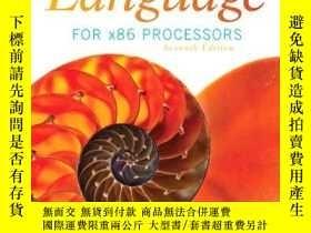 二手書博民逛書店Assembly罕見Language For X86 Processors (7th Edition)Y256