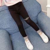 【雙十二】預熱童裝女童牛仔褲秋冬2018新款中大童兒童女孩洋氣時髦加絨加厚長褲 巴黎街頭