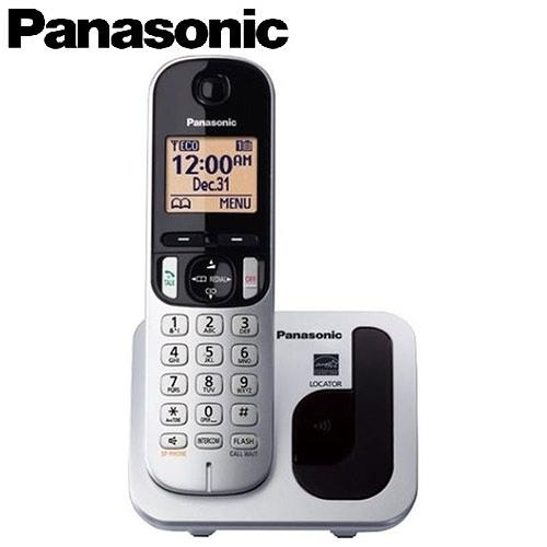 Panasonic 國際牌 KX-TGC210TW 數位無線電話 銀