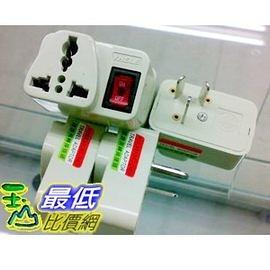 [有現貨 馬上寄] 萬能轉換歐規220V/240V 三叉頭 帶開關電源轉換頭 居家旅行必備佳品 hu549_G315