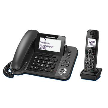 ◤1.8吋超大中文大字體◢ 國際牌DECT子母雙機數位無線電話 KX-TGF310 ( ⊙免運費+刷卡分期⊙