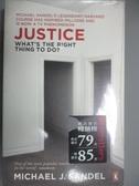 【書寶二手書T1/哲學_NSN】Justice-What s the Right Thing to Do_J Sandel