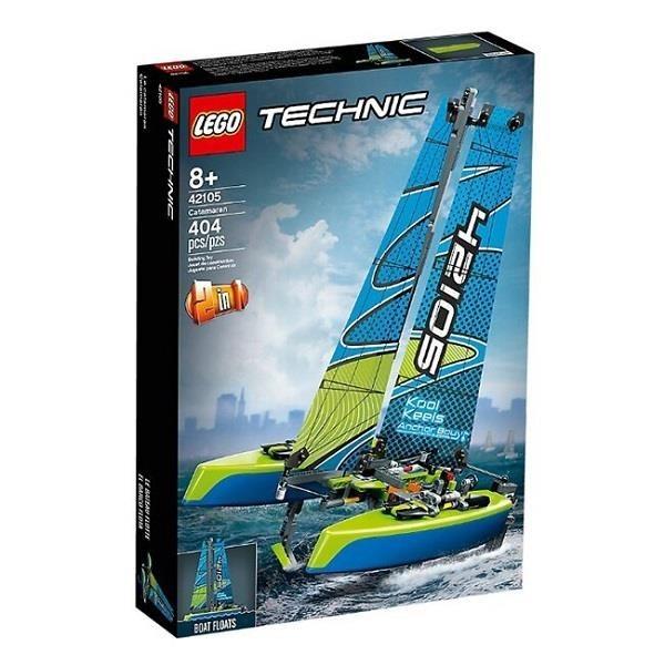 【南紡購物中心】【LEGO 樂高積木】科技 Technic 系列 - 雙體帆船42105