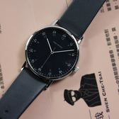 ISSEY MIYAKE 三宅一生 / VJ21-0360B.NYAJ006Y /  F系列 極致完美 數字時標 日本製造 真皮手錶 黑x深灰 39mm
