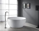 【麗室衛浴】BATHTUB WORLD BB218 正圓 壓克力造型獨立缸 150*65CM