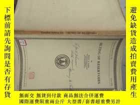 二手書博民逛書店SILTING罕見OF RESERVOIRS(1936年錢寧院士