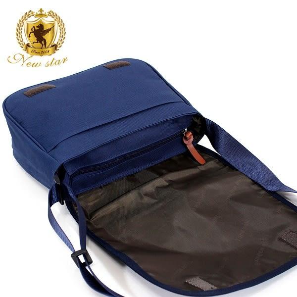 斜背包 英倫風防水尼龍撞色男包女包側背包包 NEW STAR BL131