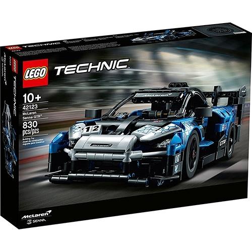 樂高積木 LEGO《 LT42123 》科技 Technic 系列 - McLaren Senna GTR™ / JOYBUS玩具百貨