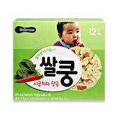 韓國 智慧媽媽 BEBECOOK 幼兒米餅王 (菠菜紅蘿蔔)