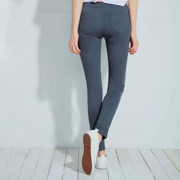 【101原創】MIT內搭褲 彈力塑身口袋美型褲(女) 黑色/白色/深灰/軍綠/丈青