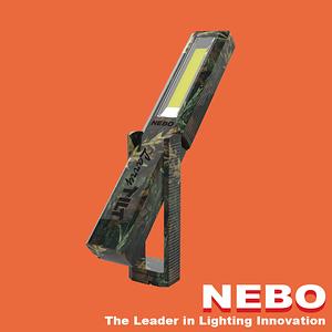 【NEBO】Larry Tilt任意傾斜COB LED手電筒-軍裝迷彩