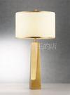 【燈王的店】後現代燈飾 桌燈1燈  不銹鋼 布罩   ☆311612