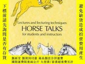 二手書博民逛書店Horse罕見TalksY362136 Maxine Cave