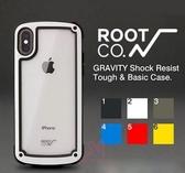 光華商場 包你個頭【ROOT CO.】iphone X/XS5.8吋 手機殼 戶外 登山 運動 防摔 保護套 透明背蓋