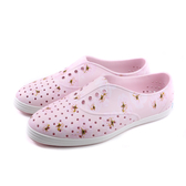 native JERICHO PRINT 洞洞鞋 休閒鞋 粉紅色 花卉 女鞋 11300401-8836 no967