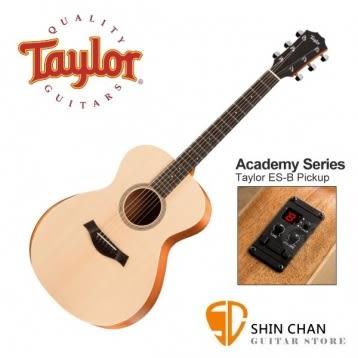 【缺貨】Taylor A12e Academy 12e 單板 內建調音功能 GC桶身/電木吉他/民謠吉他 附原廠袋   台灣公司貨