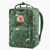 【Fjallraven北極狐】Kanken Art Laptop 15吋筆電後背包-寓言綠976(FR23613)