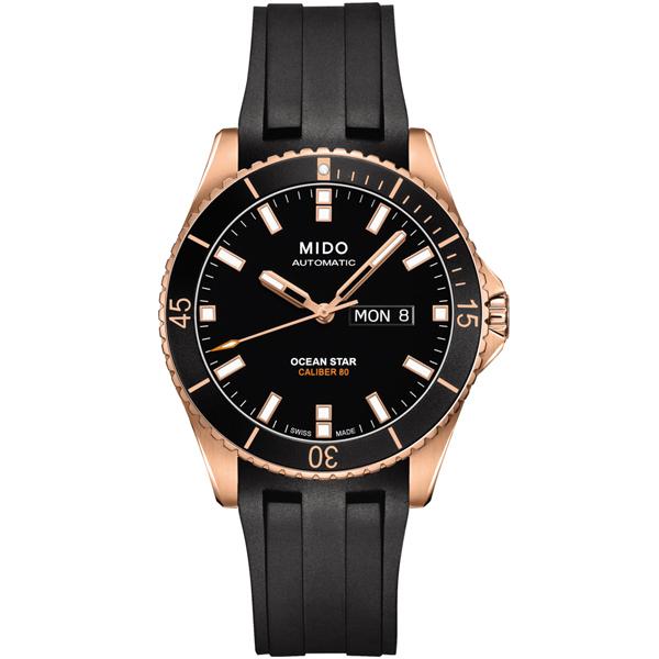 MIDO 美度 Ocean Star系列 潛水專業腕錶 M0264303705100 動力儲存80小時