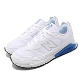 New Balance 慢跑鞋 X-Racer 白 藍 男鞋 運動鞋 休閒鞋 【ACS】 MSXRCFID