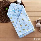夏季薄款初生兒寶寶用品襁褓包巾zy633 【野之旅】