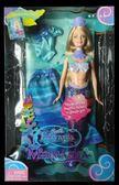【居家優品】老款 Barbie芭比 Mermadia人魚公主*彩虹仙子 Elina朋友