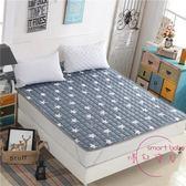 榻榻米床墊雙人床褥子四季床護墊防滑1.8米可機洗薄款墊被2m