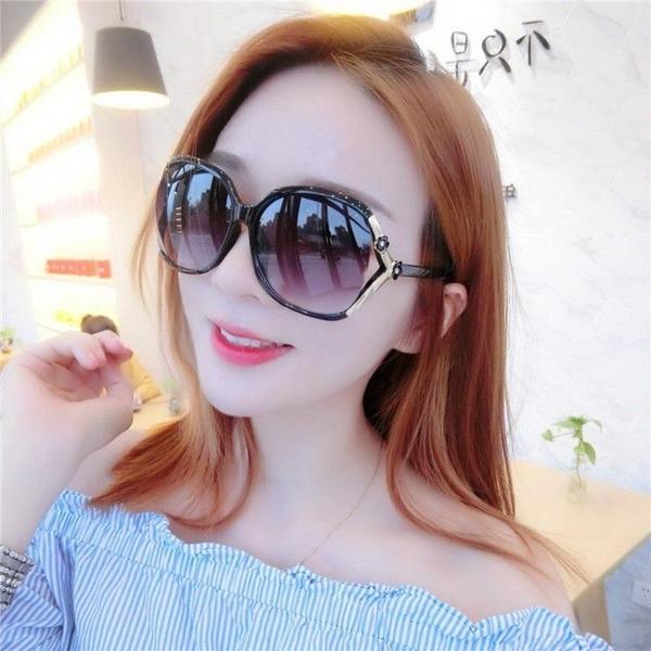 太陽鏡女士新款韓版潮防紫外線防曬眼鏡 全館免運
