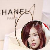 【超取199免運】韓國貓耳朵髮箍 豹紋髮箍 發帶 聖誕髮飾 跨年 化妝舞會 大人小孩都試用