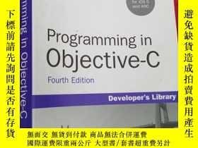 二手書博民逛書店Programming罕見In Objective-cY1765
