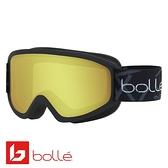 法國 Bolle FREEZE 雙層鏡片設計 防霧雪鏡 霧黑/檸檬黃 #21799
