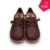 【A.MOUR 經典手工鞋】後踩休閒鞋 - 咖 / 休閒鞋 / 進口小牛皮 / 舒適鞋 / DH-7860
