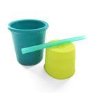 【美國 silikids】果凍餐具 – 矽膠吸管杯組