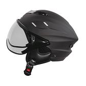 【東門城】ZEUS ZS125B 素色(消光黑) 半罩式安全帽 雪帽