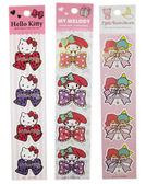 【卡漫城】 Hello Kitty 蝴蝶結 裝飾 貼紙 Kikilala Melody 任選三張 ㊣版 禮物 /款 L2