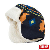 CHUMS 日本 飛行保暖帽 護耳帽 深藍 CH051022N001
