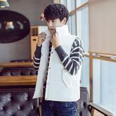 羽絨棉馬甲男冬韓式修身外套馬甲加厚大尺碼情侶款潮流學生坎肩背心 最後一天85折