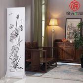 屏風 隔斷玄關時尚客廳簡約現代折疊裝飾雕花房間臥室辦公酒店中式RM