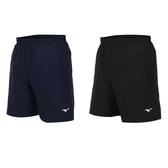 MIZUNO 男平織短褲(免運 慢跑 美津濃≡體院≡ 32TB0A02