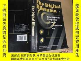 二手書博民逛書店The罕見Digital Dilemma(數字困境)英文原版69