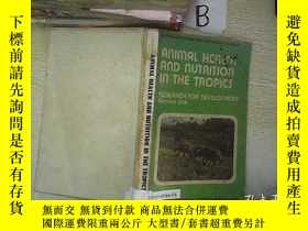 二手書博民逛書店ANIMAL罕見HEALTH AND NUTRITION IN