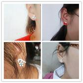 純銀耳釘女氣質韓國時尚百搭防過敏珍珠耳環甜美簡約耳飾耳墜飾品
