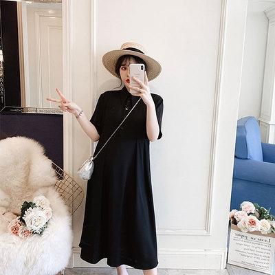 L-4XL胖妹妹大碼洋裝連身裙~9523大碼連身裙4F064C1莎菲娜