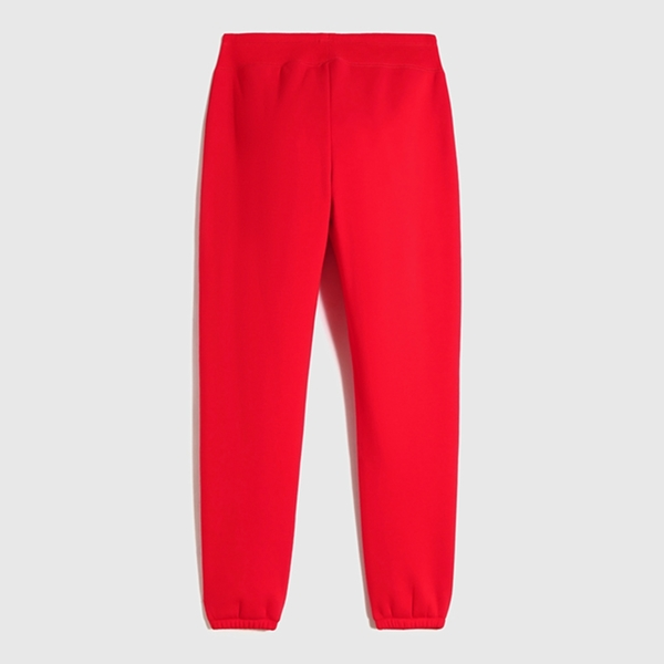 Gap女裝 碳素軟磨系列 Logo運動休閒褲 669790-紅色