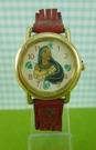 【震撼精品百貨】Disney 迪士尼 Pocahontas_風中奇緣~手錶-圓形錶面-紅金色錶帶【共1款】