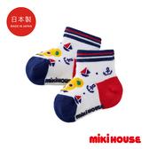 MIKI HOUSE 日本製 普奇熊帆船兒童襪