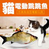 跳跳魚 魚抱枕 貓草枕 貓咪玩具 草魚 鮭魚 鲫魚 仿真 貓草 抱枕 貓薄荷 寵物用品 神龍擺尾 充電