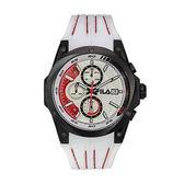 【FILA 斐樂】/三眼橡膠帶手錶(男錶 女錶 Watch)/38-823-001/台灣總代理原廠公司貨兩年保固