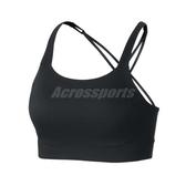 Nike 運動內衣 Swoosh Luxe Bra 黑 女款 中強度支撐 【ACS】 CJ0545-010