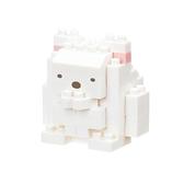 《 Nano Block 迷你積木 》NBCC-072 角落生物白熊╭★ JOYBUS玩具百貨