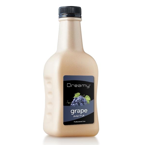 Dreamy 巨峰葡萄鮮果漿 台灣特色 Grape pulp fruit 1.2kg/瓶-【良鎂咖啡精品館】